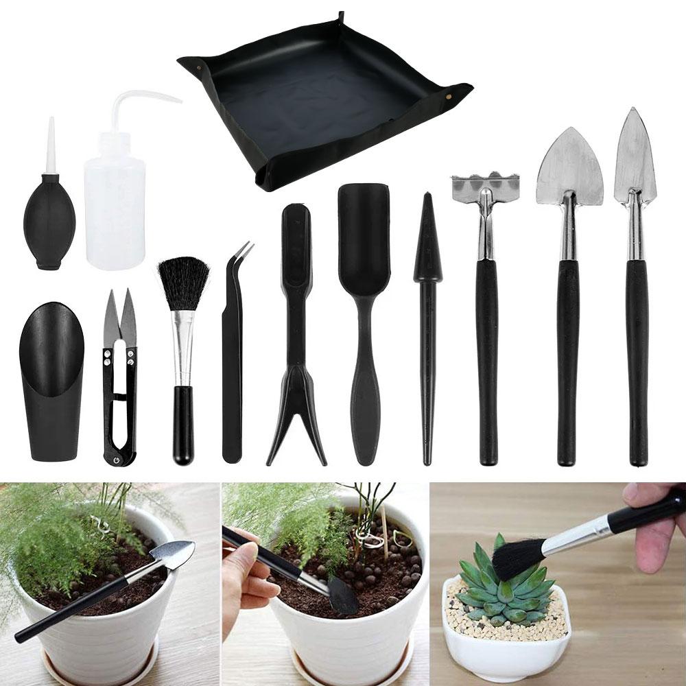 12-13pcs-Garden-Planter-Kit-Succulent-Plants-Tools-Mini-Garden-Hand-Tools-Set-Indoor-Bonsai-Miniature